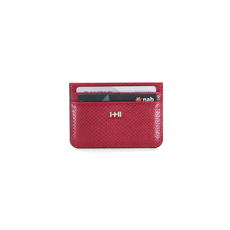Dylan Kain Red Opium Snake Card Holder