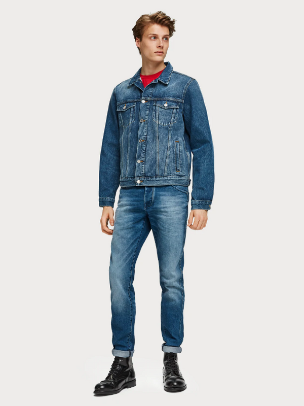 Scotch & Soda Rhythm and Blauw Phaidon Jean
