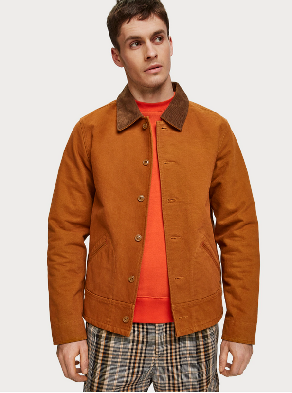 Scotch & Soda Moleskin Jacket