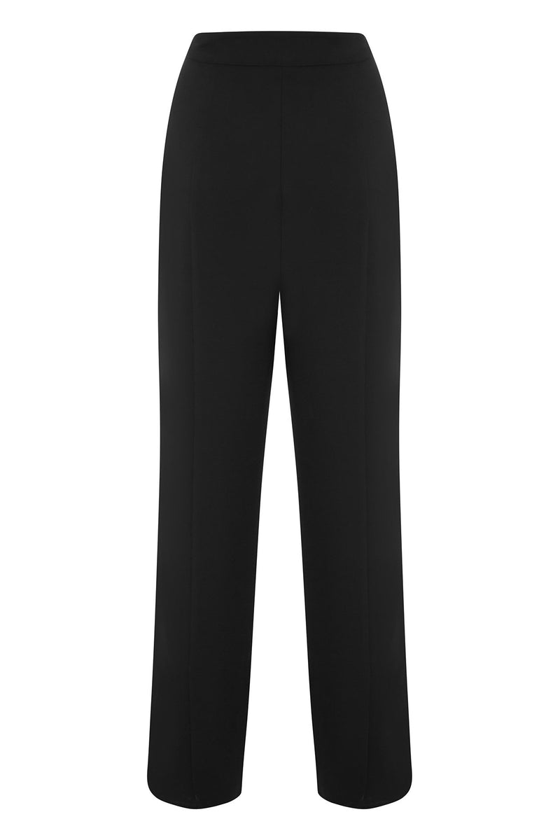 Harris Tapper Black Suiting Soft Slacks
