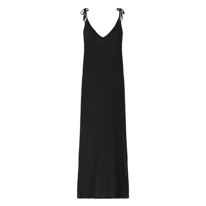 Bird & Knoll Black Valentina Dress