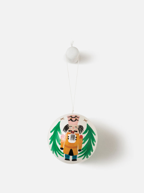 Città Hand Painted Nutcracker Bauble