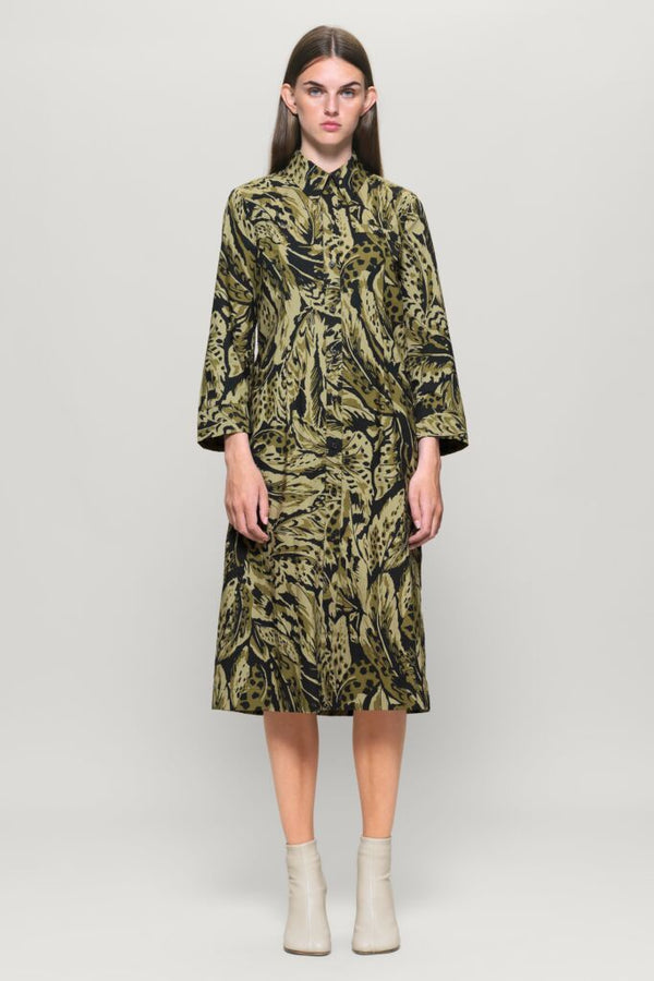 Baum Und Pferdgarten Olive Feather Arlene Dress