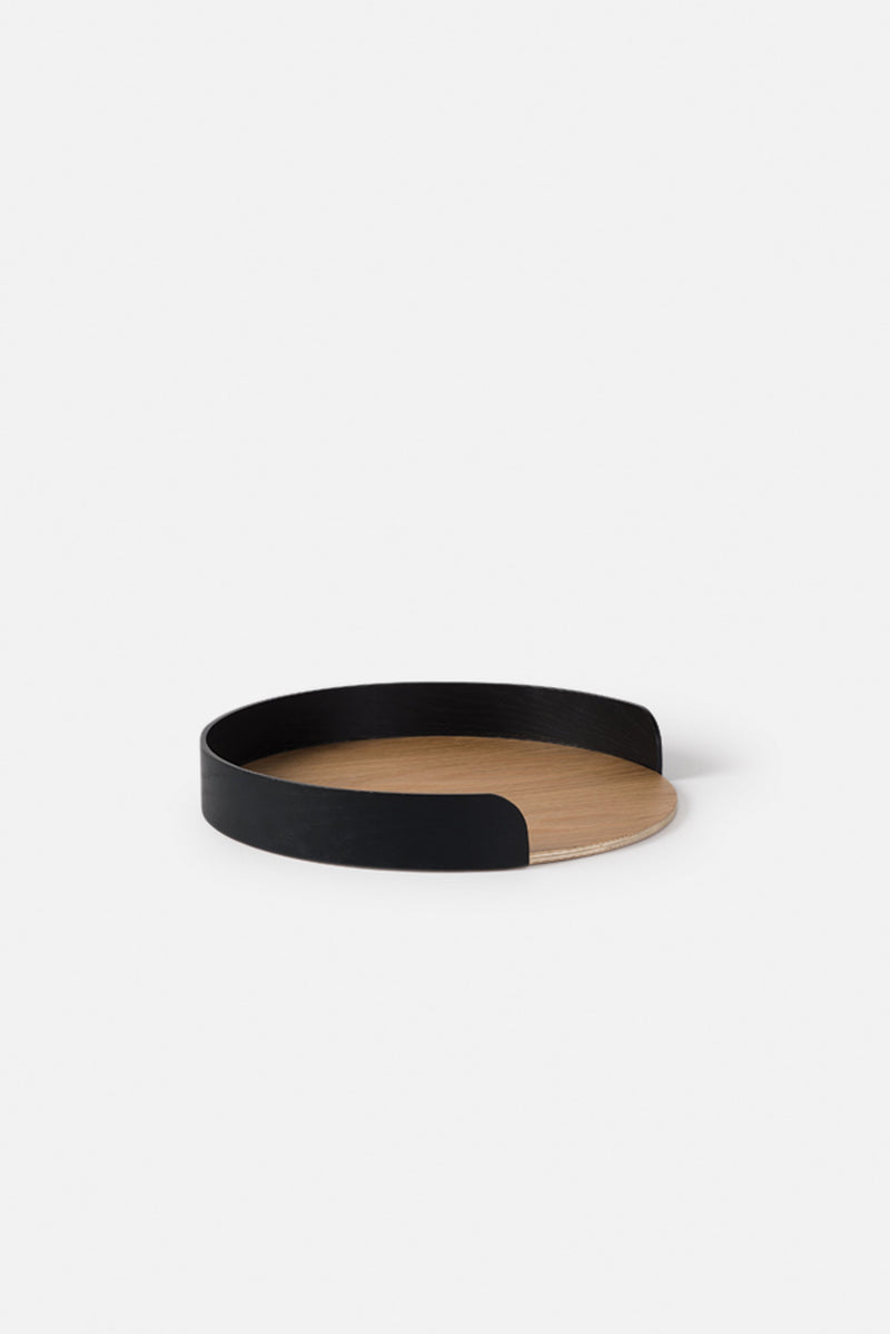 Città Black Natural Small Segment Tray