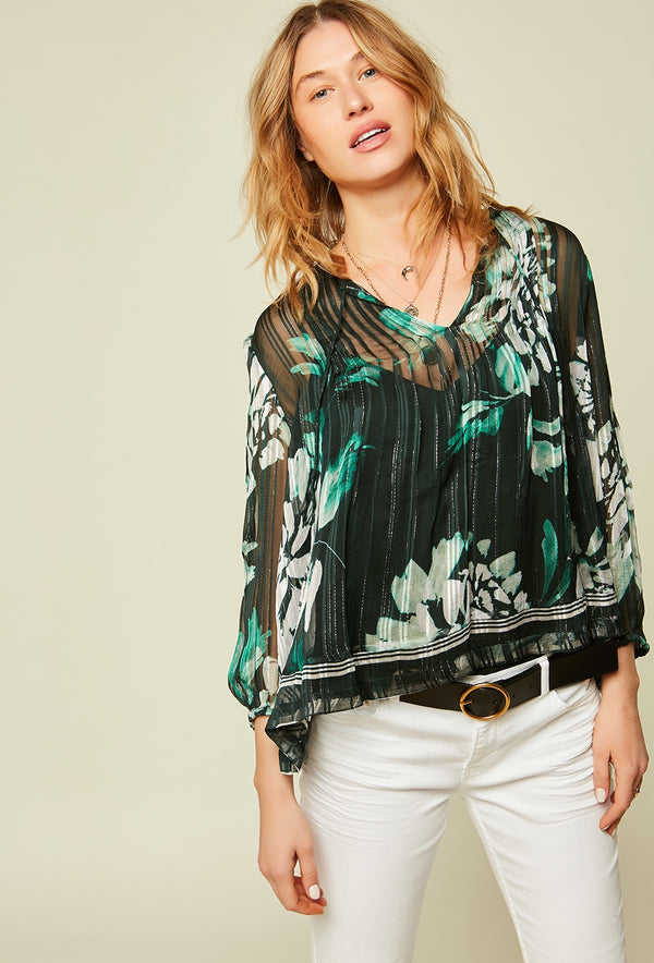 Stella Forest Lagon Floral Tunic