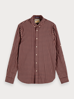 Scotch & Soda Combo Check Shirt