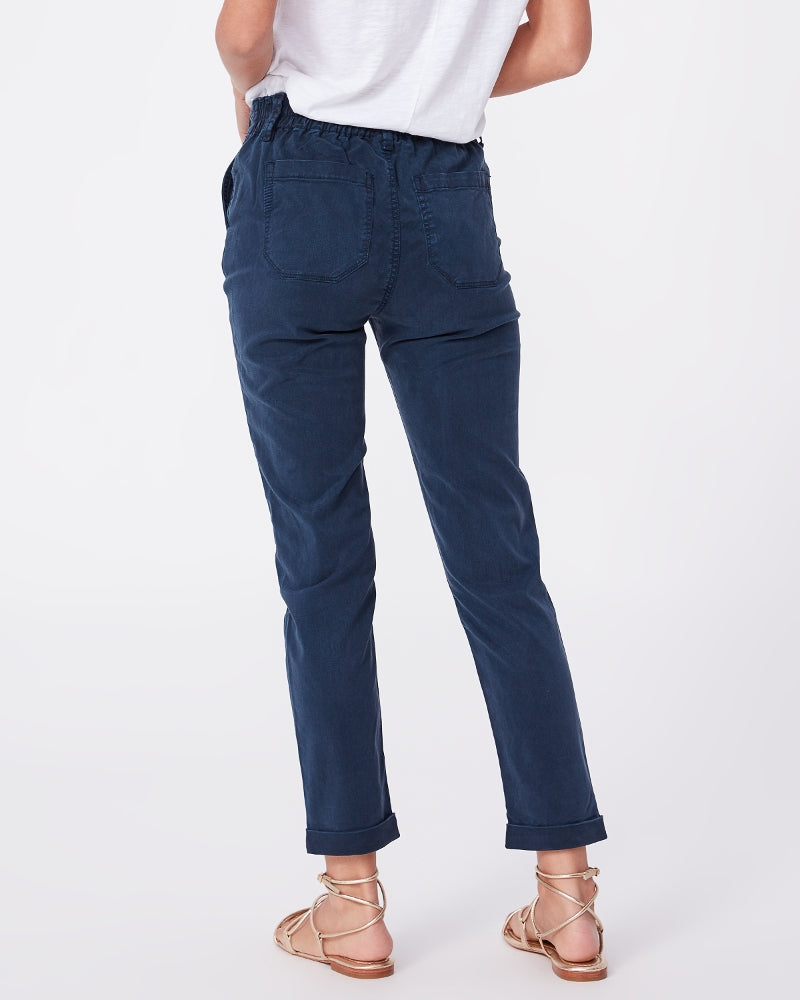 Paige French Navy Christy Pant