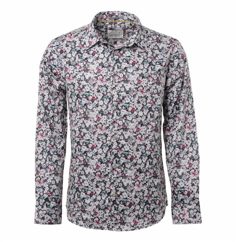 No Excess Old Pink Floral Shirt