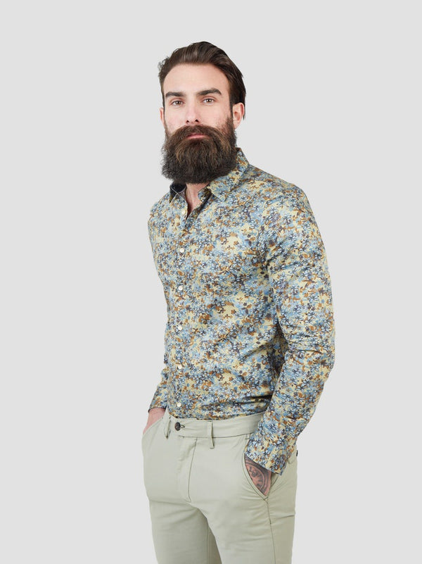 Pearly King Rife Floral Shirt