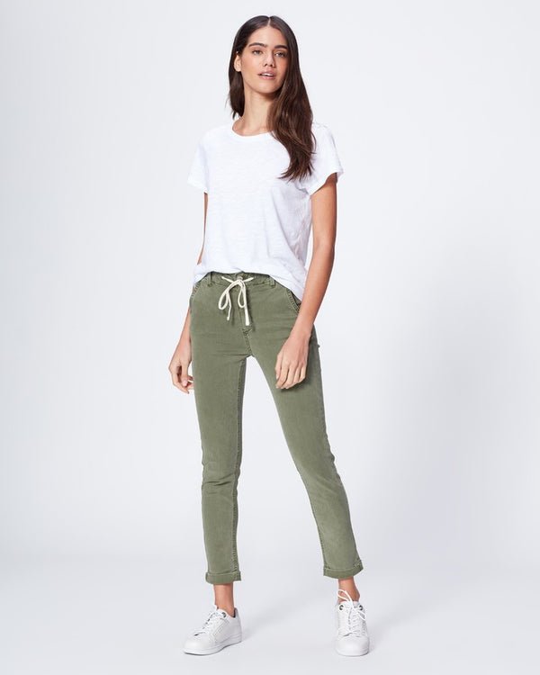 Paige Vintage Coastal Green Christy Pant