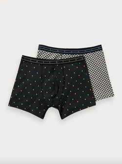 Scotch & Soda Artwork II Boxer 2 Pack