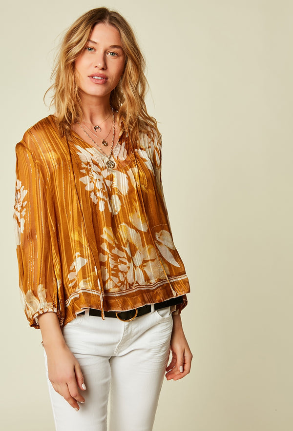 Stella Forest Ocre Floral Tunic