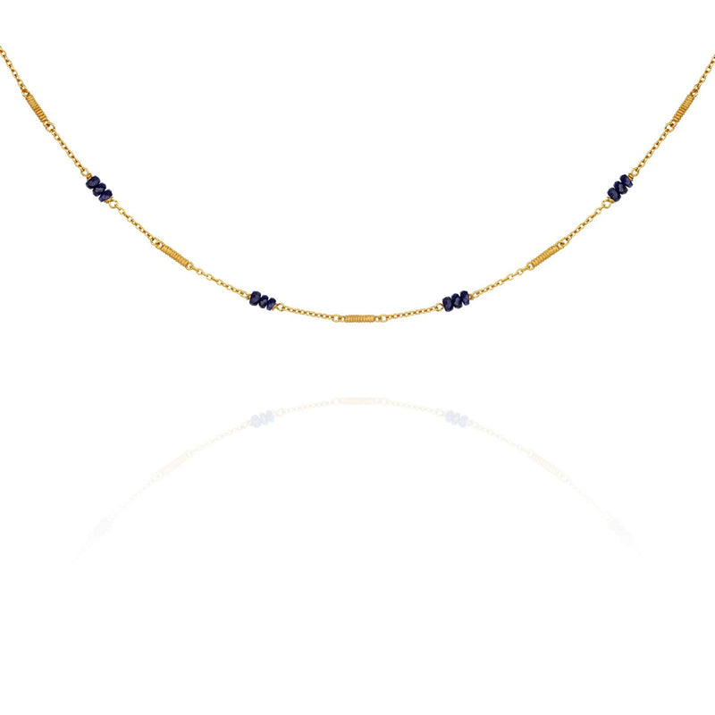 Temple Of The Sun Quinn Sapphire Necklace