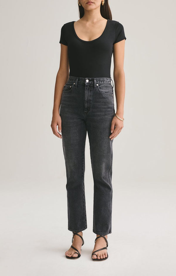 AGOLDE Photogram Pinch Waist High Rise Kick Jean