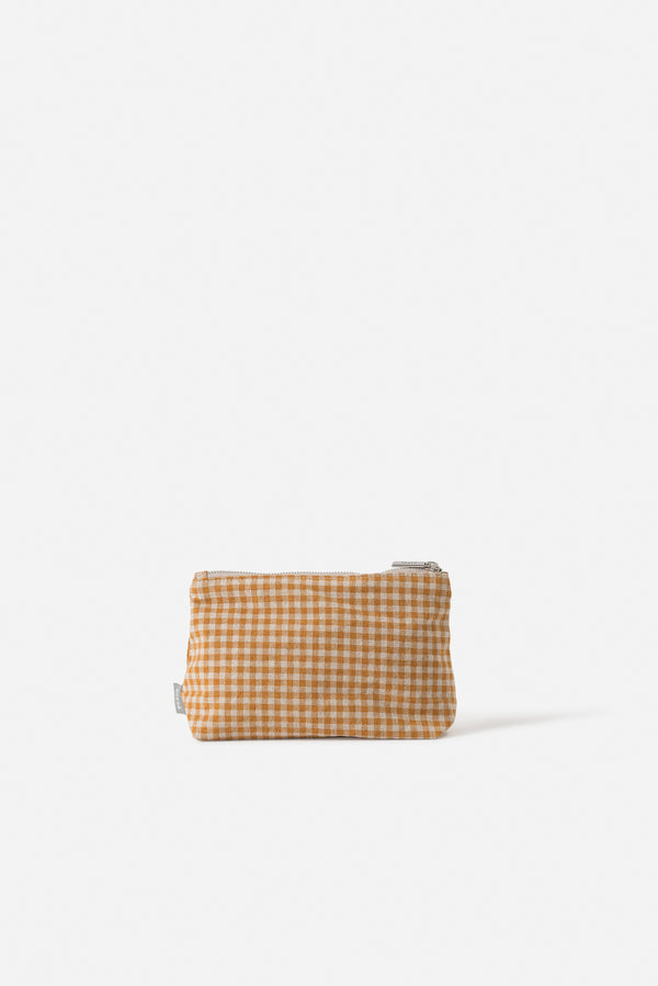 Città Pumpkin Gingham Utility Bag