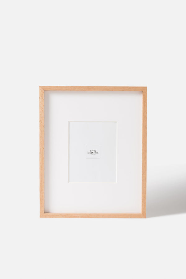 Città Oak Edge Photo Frame (8x10in)