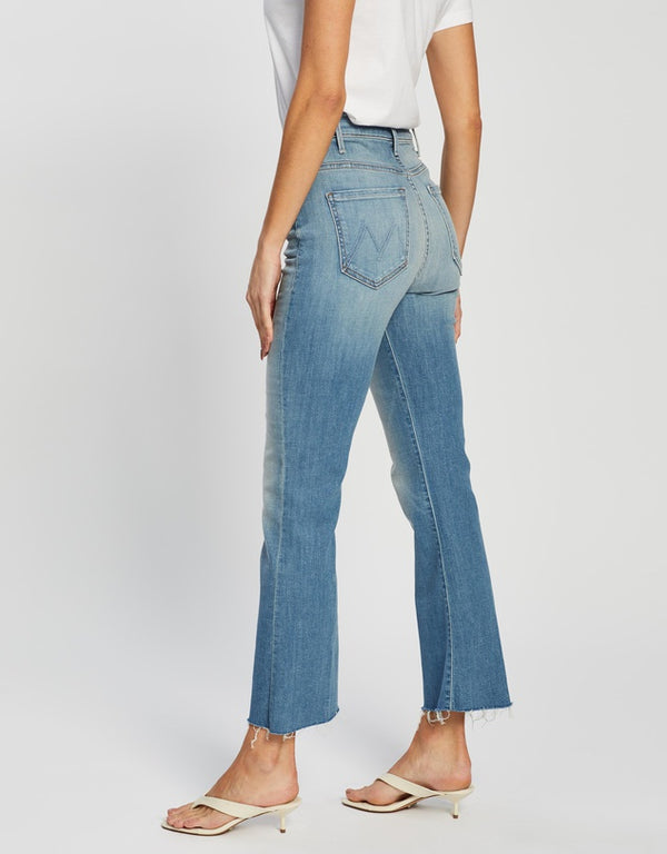 MOTHER Shaken Not Stirred - The Hustler Ankle Fray Jean