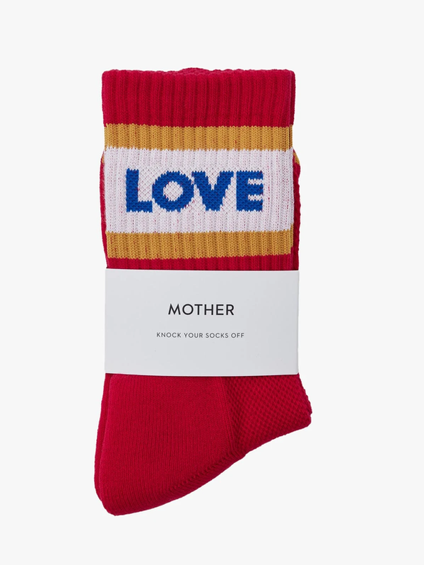 MOTHER Gold Love Baby Steps Socks
