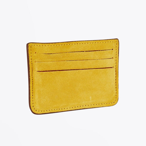 Scotch & Soda Classic Brown Leather & Suede Wallet