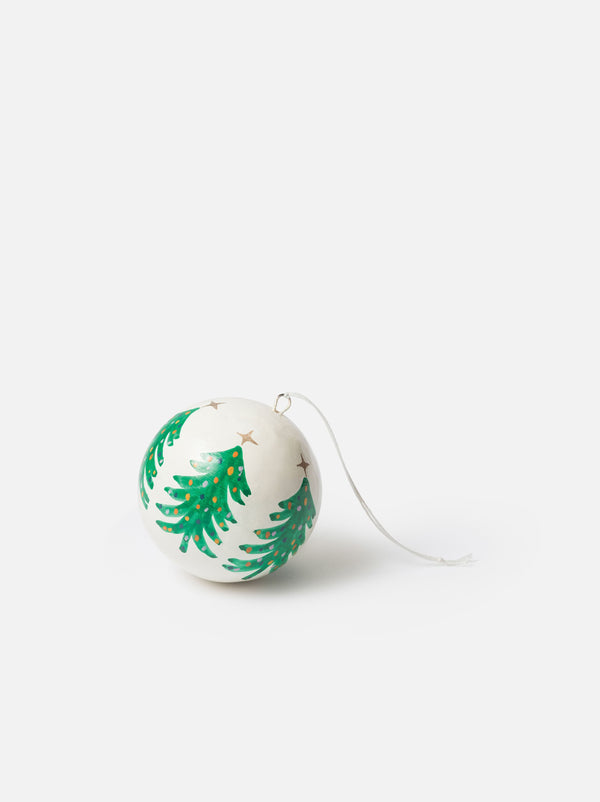 Città Hand Painted Christmas Tree Bauble