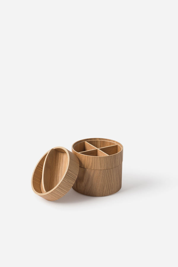 Città Small Natural Oak Gaussian 3 Tier Vessel