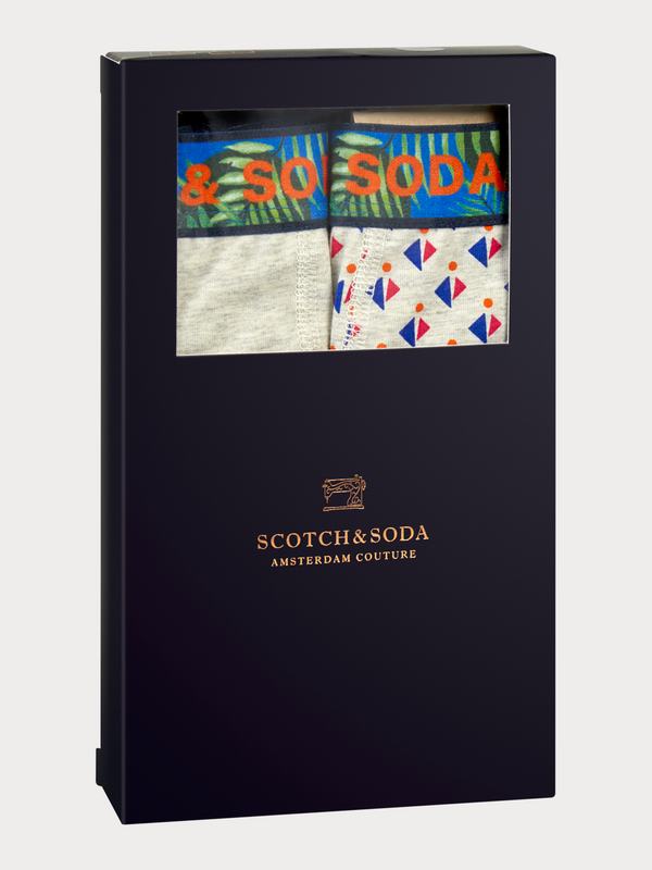 Scotch & Soda Marle Print Boxers 2 Pack