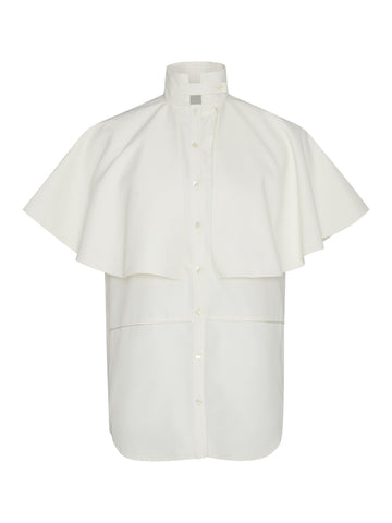 White Shirt made from recylced Water Bottles
