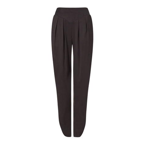 100% Silk Black taliored Trousers