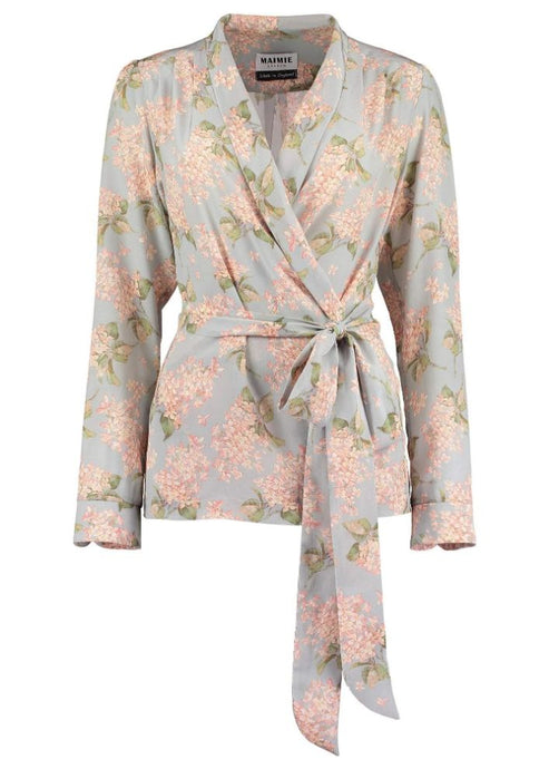 Liberty of London WrapTop Silk Jacket, Natural x Lab, Reve en Vert, Matches Fashion, Browns Fashion, Mamie
