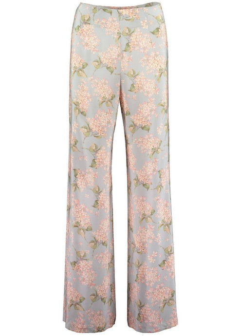 Wide Leg High waisted Womens Liberty of London Print Trousers, Natural x Lab, Mamie, Net-a-porter, Matches, Reve en Vert