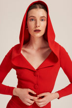 Load image into Gallery viewer, Women wearing Red Kylie Minogue Jumpsuit by Alexandra Long avalible at Natural x Lab