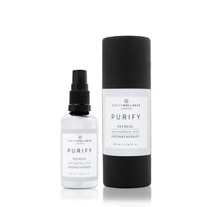 Purify Atmosphere Mist 50ml, Refresh Face and Room Spray by Spritz Wellness