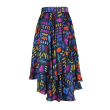 Load image into Gallery viewer, Wrap Midi Skirt Multi Print Eco-Friendly, Sustainable fashion by Gung Ho at Natural x Lab