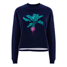 Load image into Gallery viewer, Beetroot Jumper cropped in Navy by Gung Ho at Natural x Lab