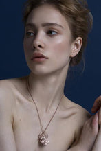 Load image into Gallery viewer, Recycled Gold silver rose gold Moth Necklace by Gung Ho