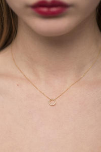 White Diamond Necklace (CW) by GFG Jewellery by Nilufer at Natural x Lab, Sustainable Luxury Products