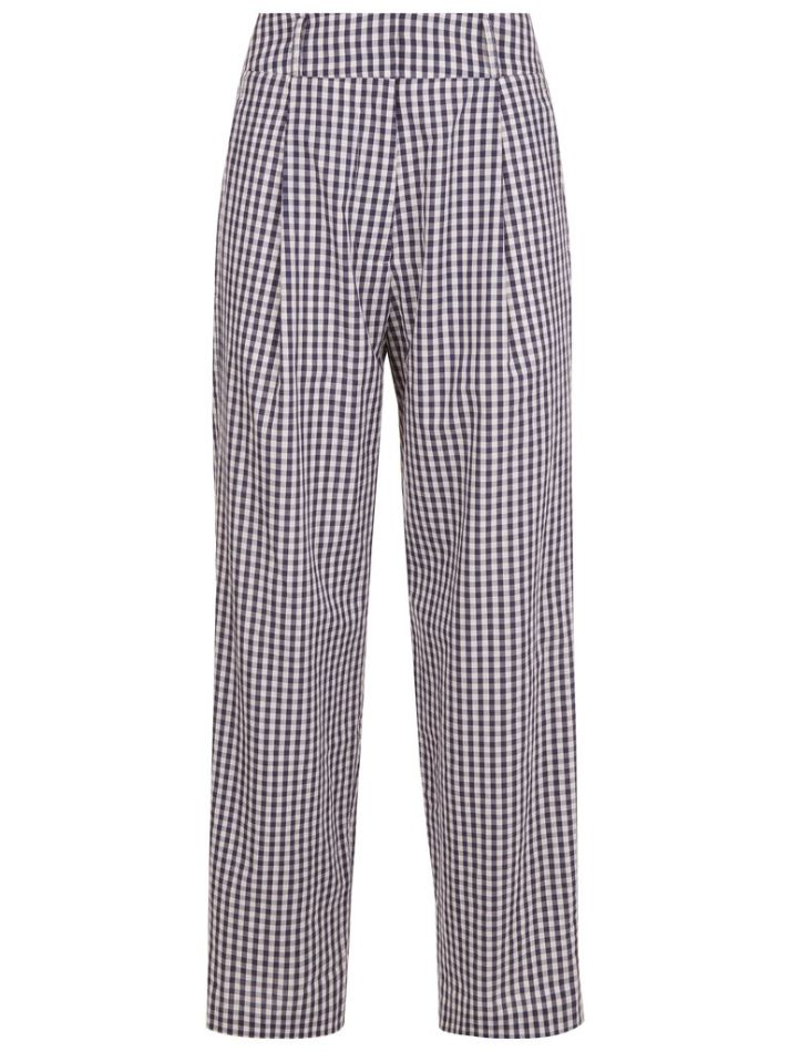Ford Trouser in Mini Check front