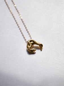 Recyled Gold Necklace the half Moon and hunt by Haute & Heir at Natural x Lab