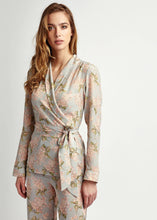 Load image into Gallery viewer, Liberty of London Silk Jacket, Natural x Lab, Reve en Vert, Matches Fashion, Browns Fashion, Mamie