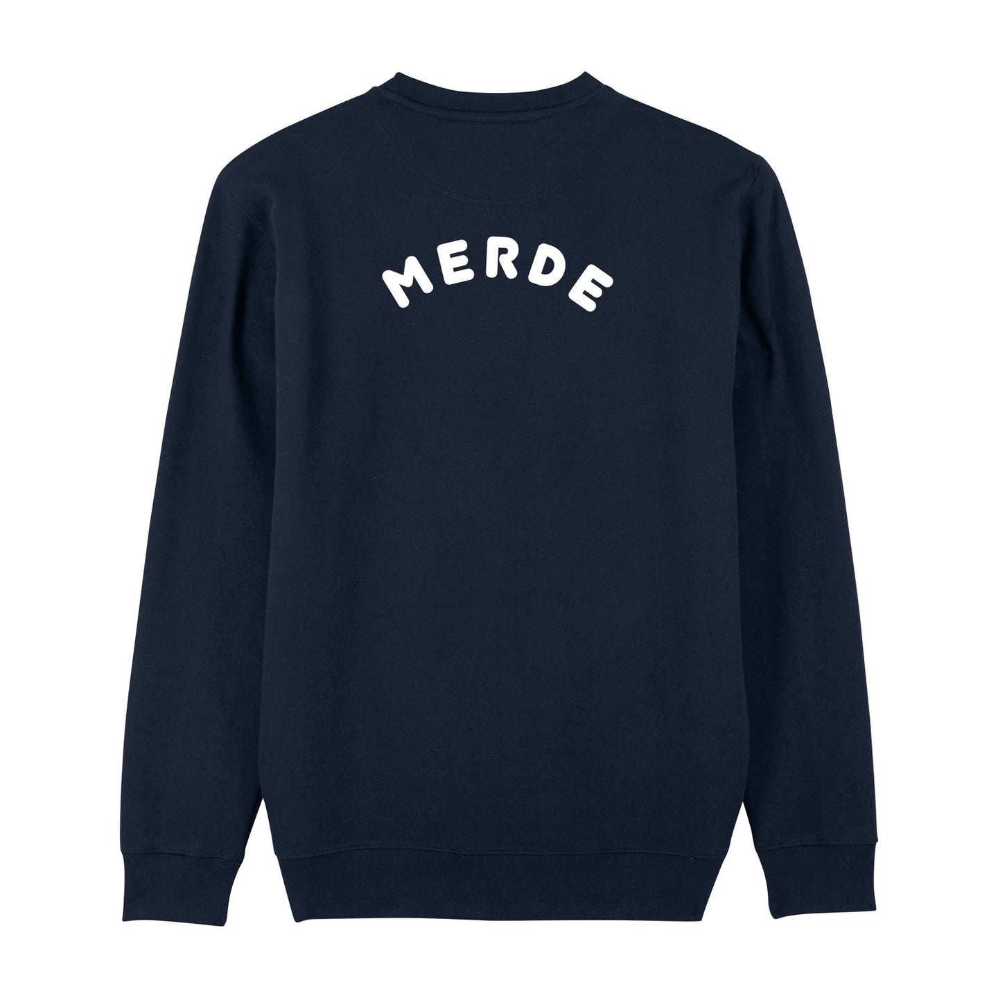 Organic Cotton Merde Jumper by French Kiss at Natural x Lab, Sustainble Luxury