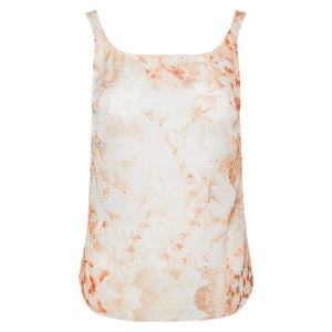 100% Silk sheer Porn Print Pink/nude Cassandra Cami by Alexandra Long at Natural x Lab