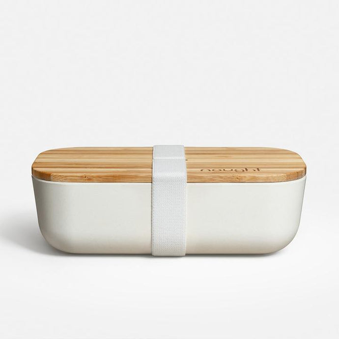 Nought Bamboo reusable lunchbox on Naturalxlab