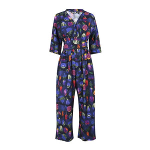 Pesticide Jumpsuit 100% silk by Gung Ho London avalible at Natural x Lab
