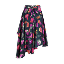 Load image into Gallery viewer, Wrap Skirt in Pesticide print by Gung Ho London