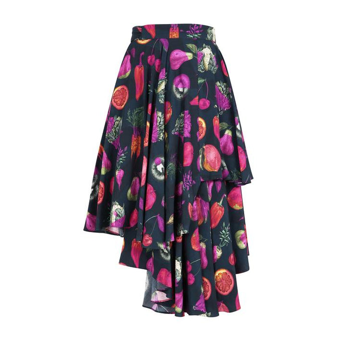 Wrap Skirt in Pesticide print by Gung Ho