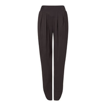 Load image into Gallery viewer, Women's Black silk tailored trousers, Natural x Lab, Reve en Vert, Matches, Mamie, Browns