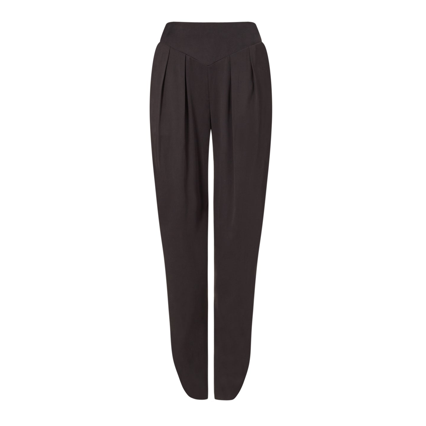 Women's Black silk tailored trousers, Natural x Lab, Reve en Vert, Matches, Mamie, Browns
