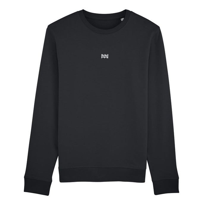 100% Organic Rebel Rebel Cotton Black Jumper