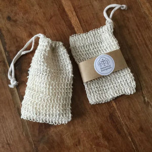 Exfoliating Soap Saver Bag Organic Hemp Eco Friendly