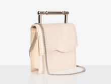 Load image into Gallery viewer, small Vegan Leather Bag in Cream by Mashu at Natural x Lab Apple Leather